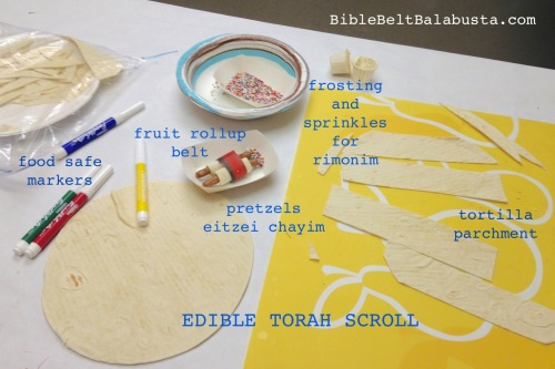 Tortilla Torah supplies
