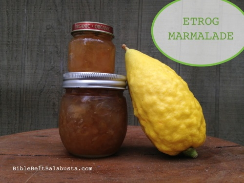 etrog marmalade